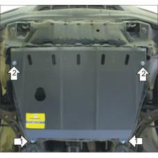 Защита картера, КПП для TOYOTA Harrier 1998-2003 Мотодор
