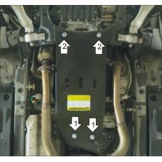 Защита кпп и раздатки Lexus GS 300 2005-2015