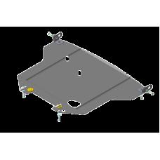 Защита стальная Мотодор на Двигатель, Радиатор для Lexus GS 300 1997-2005