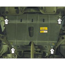 Защита стальная Мотодор на Двигатель, КПП для Lexus ES 300 2002-2006