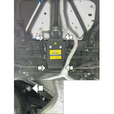 Защита заднего дифференциала  SUBARU Legacy Turbo 2009-2015