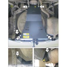 Защита заднего бампера NISSAN X-Trail 2007-2015 Т31