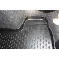 Коврик в багажник VW Polo 2010->, седан. (полиуретан)