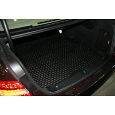 Коврик в багажник MERCEDES-BENZ E-Class W212, 2009-> Elegance, сед. (полиуретан)