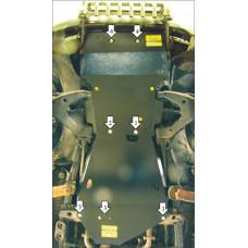 Защита ДВС, кпп, пер. диф., радиатора  Land Cruiser 100 бензин сталь 3мм