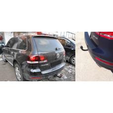 Фаркоп на а/м VW Touareg 2002-2007, 2010- 4х4 (без электрики)/PORSCHE Cayenne 2002-2007, 2010- 4х4 , 2143-A
