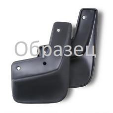 Брызговики задние PEUGEOT 408, 2012-> сед. 2 шт. (полиуретан)