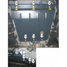 Стальная защита на Двигатель, КПП для HONDA HR-V 1999-2005