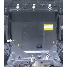 Защита стальная Мотодор на Двигатель, КПП для SUZUKI Sx4 2013-