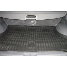 Коврик в багажник HYUNDAI Santa Fe Classic 2001-2006, кросс. (полиуретан)