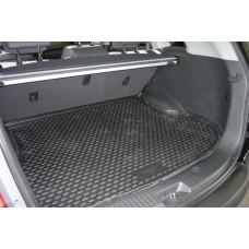 Коврики 3D в салон VW Golf VII, 2013-> 4 шт. (полиуретан, серые)