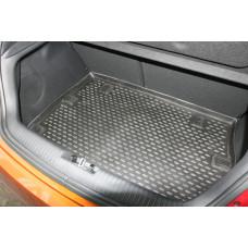 Коврик в багажник HYUNDAI Veloster, 2012-> хб. (полиуретан)