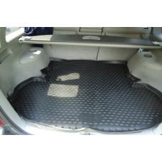 Коврик в багажник TOYOTA Highlander 2001-2007, кросс. (полиуретан)
