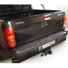 Фаркоп на а/м TOYOTA Hilux double cab 2008- с усилителем заднего бампера, Лидер Плюс