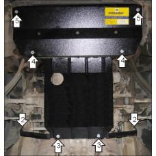 Защита стальная Мотодор на Двигатель, КПП для Lexus LS 400 1994-2000