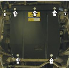 Защита картера, переднего диф., радиатора SUZUKI Grand Vitara \ Escudo 1998-2005 сталь 2мм