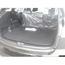 Коврик в багажник MAZDA CX-9, 2007-2012, 2012-> кросс., длин.(полиуретан)