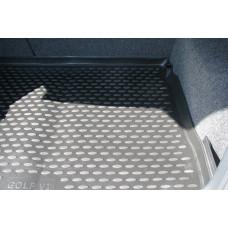 Коврик в багажник VW Golf VI 04/2009->, хб. (полиуретан)