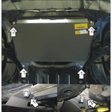Защита стальная Мотодор на Двигатель, КПП для Lexus RX 300, 330, 350 2003-2008