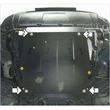 Защита двигателя и кпп NISSAN X-Trail 2007-2015,  кузов T31, сталь 2мм