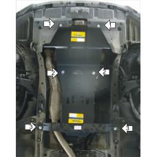 Защита стальная Мотодор на Двигатель, КПП для SUBARU Outback 2009-2015