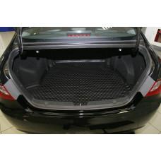 Коврик в багажник HYUNDAI Sonata 2010-> сед. (полиуретан)