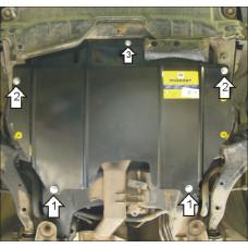 Стальная защита на Двигатель, КПП для NISSAN Murano 2003-2007
