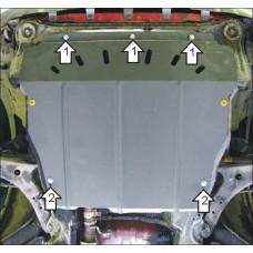 Защита картера и кпп Hyundai Santa Fé Classic 2001-2006  2 мм, Сталь