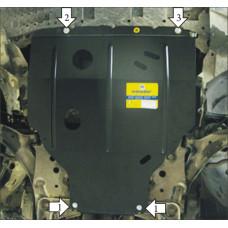 Стальная защита на Двигатель, КПП для NISSAN Tiida 2006-2014