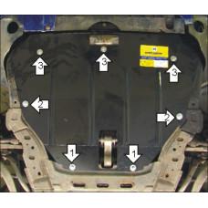 Защита картера и кпп Mazda 6 (Atenza) 2002-2007,  2 мм, Сталь