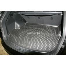 Коврик в багажник HYUNDAI Santa Fe, 2012->, 5 мест, кросс. (полиуретан)