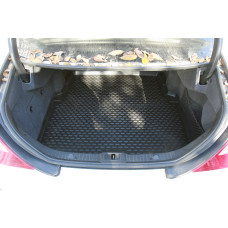 Коврик в багажник MERCEDES-BENZ СLS-Class W219 2004->, куп. (полиуретан)