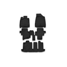 Коврики в салон NISSAN Pathfinder, 2014-> 5 шт. (полиуретан)