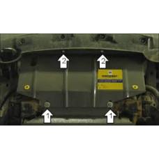 Стальная защита на Радиатор для NISSAN Navara 2004-2010
