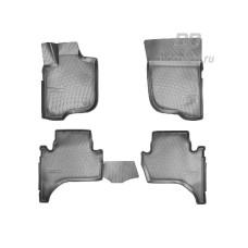Коврики в салон 3D Mitsubishi Pajero Sport III 2016- полиуретан