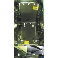 Защита на Двигатель, Передний дифференциал, КПП для TOYOTA Land Cruiser Prado 150 2014- (Объем 4.0)