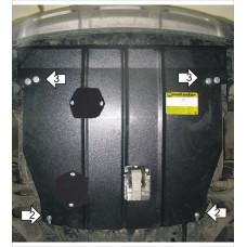Защита картера и КПП Hyundai Santa Fé III 2012-  2 мм, Сталь