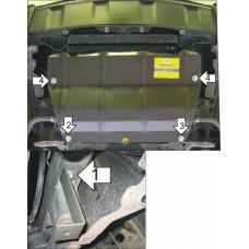Защита картера  Infiniti FX 35\45 2002-2014  2 мм, Сталь