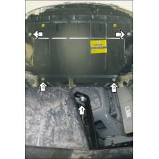 Стальная защита MOTODOR на Двигатель, КПП для TOYOTA Ractis 2005-2010