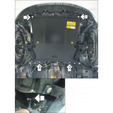 Стальная защита двигателя и КПП TOYOTA Ist 2002-2007