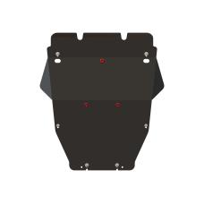 Защита картера и КПП Toyota Mark X 4WD, сталь 2мм