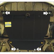 Стальная защита MOTODOR на Двигатель, КПП для TOYOTA Avensis 2003-2008