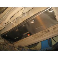Защита топливопровода Nissan Qashqai 2007-2014- сталь 2мм