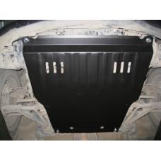 Защита картера и КПП Toyota IST 2001-2006 сталь 2мм