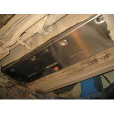 Защита топливопровода Nissan X-Trail 2007-2014 сталь 2мм