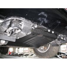 Защита картера Toyota Land Cruiser 200 2008-2015 - сталь 2мм