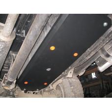 Защита топливного бака Mitsubishi L-200 2006-2015 сталь 2мм
