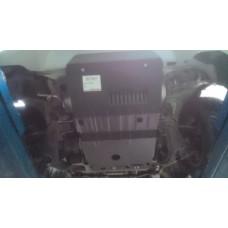 Защита картера Toyota Hiace Regius 1997-2000 V-3.0D сталь 2мм