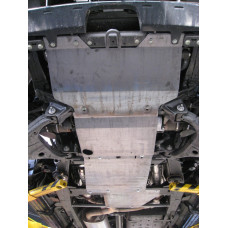 Защита КПП и РК Nissan Patrol (2 части) 1997 - 2000 сталь 2мм