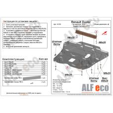 Защита картера и КПП Renault Duster / Nissan Terrano 2014- сталь 2мм
